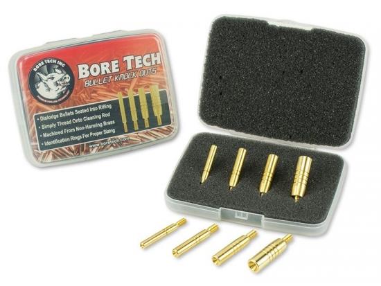 Набор насадок на шомпол для извлечения гильз и пуль Bore Tech BULLET KNOCK OUTS BTKO-1000-00