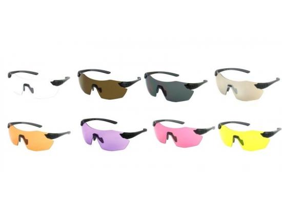 Очки защитные для стрельбы Evolution Chameleon 8 цветов (Великобритания)