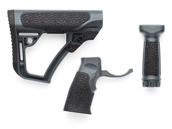 Комплект комбинированный: приклад, пистолетная рукоятка и вертикальное цевье - Daniel Defense Тornado (28-102-06 145-012)