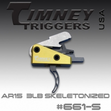 УСМ Timney Triggers AR-15 661-S Small-Pin.154-3lbs-Skeleton Pull