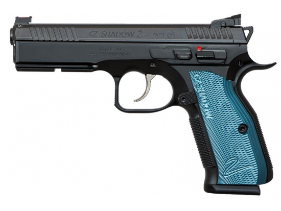 Пистолет спортивный CZ Shadow 2 Black & Blue  калибра 9x19 Luger