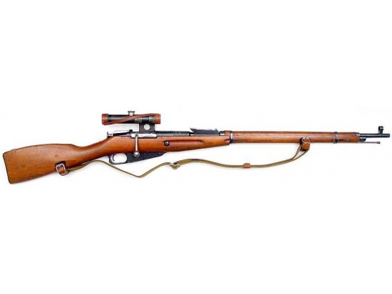 Карабин КО-91/30 c оптикой (Снайперская винтовка Мосина) калибра 7,62X54R