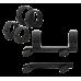 Кронштейн Blaser Saddle Mount QD с кольцами 30 мм низкий  (C8800016) BR_30_low_QD_Alum