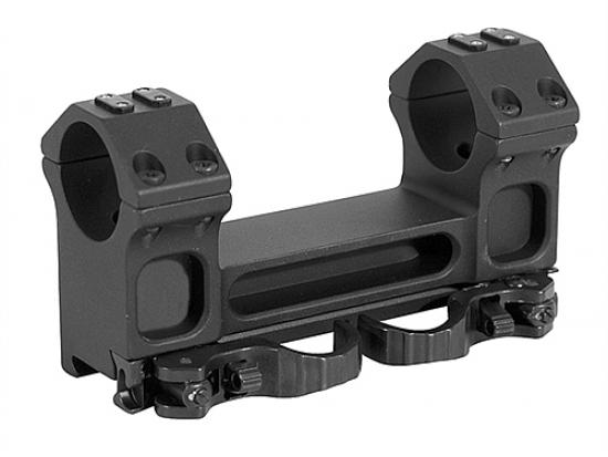 Кронштейн быстросъемный тактический ERA-TAC One-Piece Mount 30 мм 0 MOA 33 мм Safety Levers T1013-0033