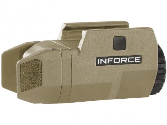 Тактический фонарь подствольный Inforce APLc 200 люмен белый свет