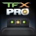 Мушка оптоволоконная - прицел TRUGLO TFX™ PRO (зеленый/красный ободок) (TG131GL1PC)