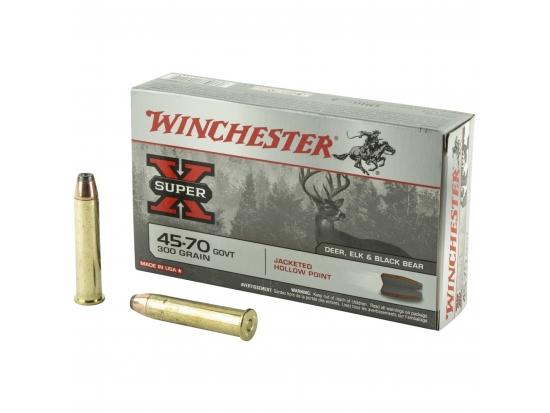 Охотничий патрон .45-70Gov Winchester Super X 300 X4570H 300gr/19,4g. 20 Round