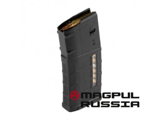 Магазин Magpul PMAG M118 GEN M3 для LR/SR на 25 патронов с окошком (MAG577)