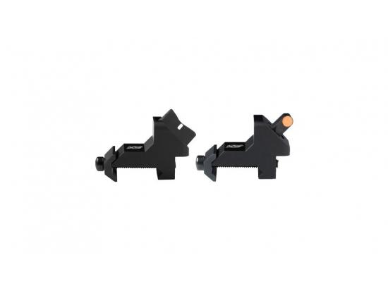 Мушка и целик AR XTI2 DXS EMBER STANDART DOT ORANGE смещеные 45град