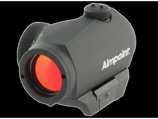 Прицел коллиматорный Aimpoint Micro H-1 Red Dot Sight w/Mount, 2MOA, Black без кронштейна