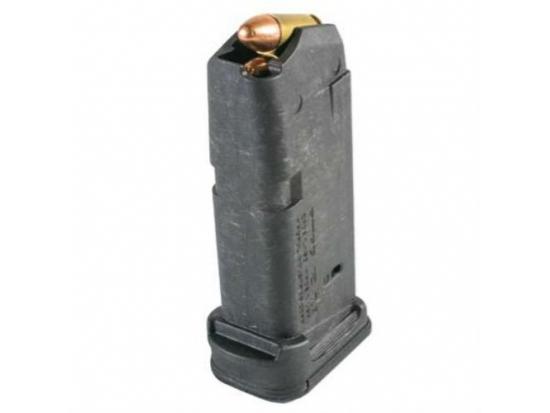 Магазин на 12 патронов для Glock 26 9 мм. MAG 674 BLK