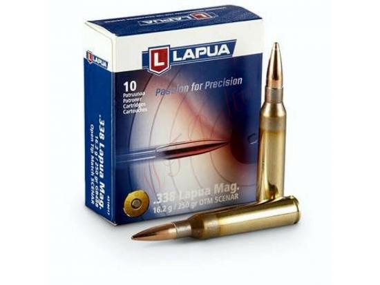 Патроны.338 Lapua Magnum SCENAR GB 488 OTM 16.2g 250gr