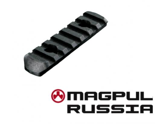 Планка Weaver на 7 слотов Magpul MOE®PolymerRail,7SlotsMoeSlotSystem-Black