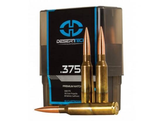Патроны Desert Tech Munitions .375 CT OTM 352gr