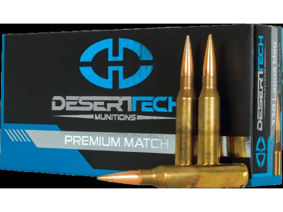 Desert Tech Munitions .338 Lapua Magnum OTM 300gr