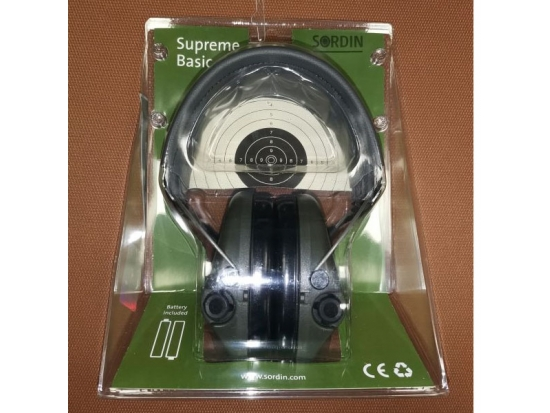 Наушники MSA Sordin Supreme Basic (хаки) 75300-S