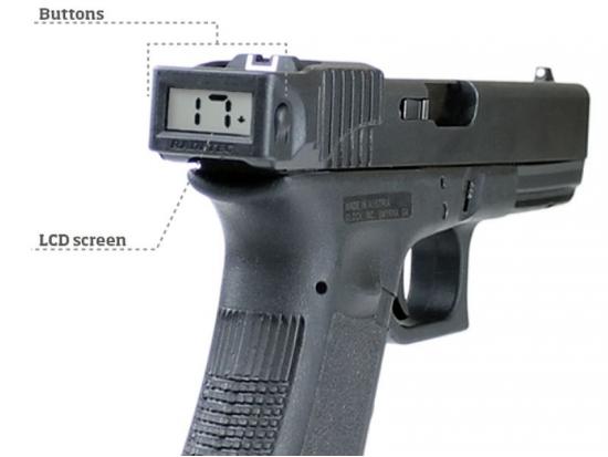 Цифровой счетчик боеприпасов для пистолетов Глок RISC Radetec for Glock (G3/4/5) (302-031)