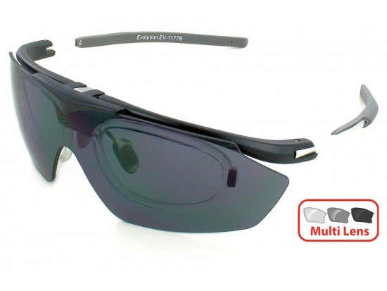 Очки защитные для стрельбы Evolution Hawk RX (Prescription) 4 Lens Set (Великобритания)
