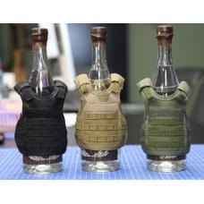 Жилет Molle тактический Мини - для бутылок (сувенир) (пивной) PSV-14
