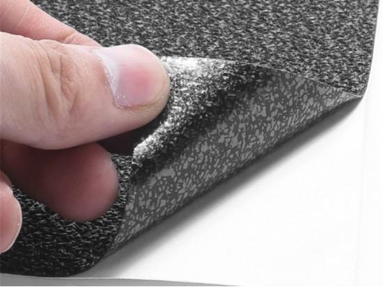 Лист резиновый текстурный самоклеящийся для оружия, телефона, камеры (PSV-15)