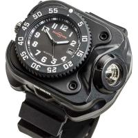 Часы со встроенным диодным фонарем 300 люмен 2211® SIGNATURE Variable-Output Rechargeable LED WristLight (2211-B-BK-SF)