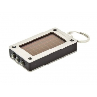 Брелок подарочный со светодиодным фонариком на солнечных батареях SolarLite True Utility TU309