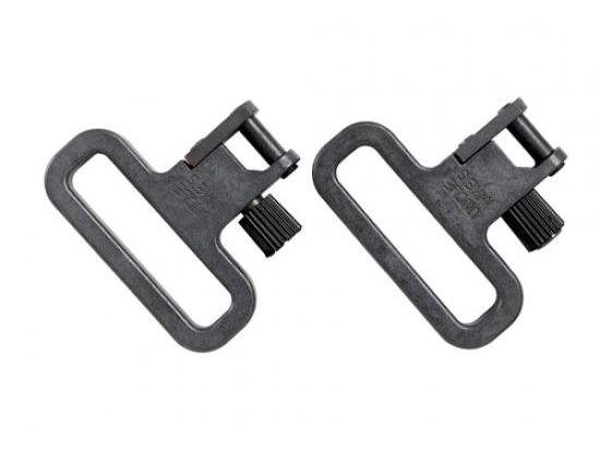 Антабка быстросъемная без хомута, сталь, ширина ремня 3,2 см (к-т 2 шт.) Uncle Mike`s 14023