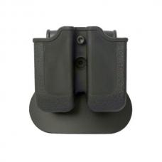 Кобура поясная открытая для магазина Double Magazine Pouch MP00 for Glock 17/19, Beretta PX4 Storm, H&K P30 / VP9 IMI-Z2000