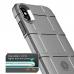 Чехол тактический защитный из толстой твердой брони TPU для iPhone X / Xs