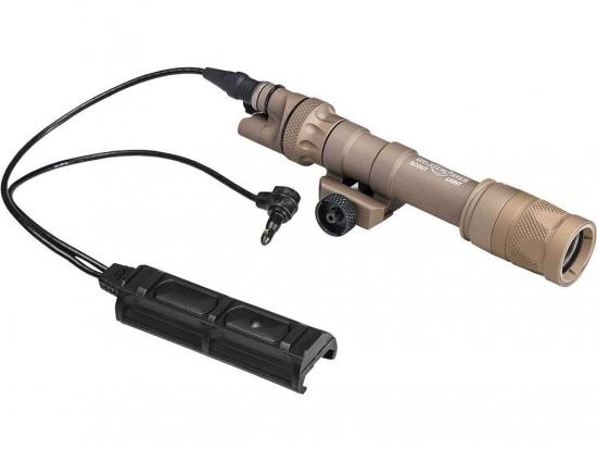 Фонарь тактический с дистанционным выключателем и креплением на Пикатинни Surefire Vampire Scout Light® with DS-SR07-D-IT Switch Assembly and M75 Thumbscrew Mount (M603V-TN)