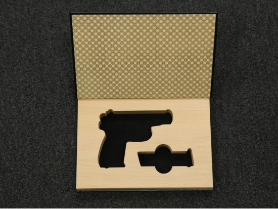 Футляр подарочный - КНИГА под пистолет Макарова ПМ