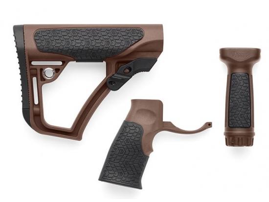 Комплект комбинированный: приклад, пистолетная рукоятка и вертикальное цевье - Daniel Defense MIL-Spec +® AR-15 (28-102-06 145-012)