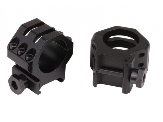 Кольца для прицелов 30 мм Blackhawk Six-Hole Tactical Rings (71TR17BK)