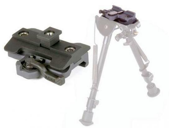 Адаптер сошки быстросъемный ERGO Xpress Lever Bipod Mount 4291