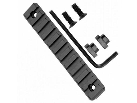 """Планка (рельса) Пикатинни GrovTec Rail 3,8"""" 9 Slot M-Lock Picatinny GTSW238"""