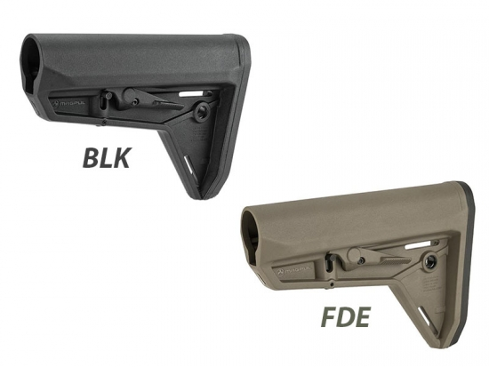 Приклад телескопический Magpul MOE SL Carbine Stock – Mil-Spec (MAG347-FDE/BLK)