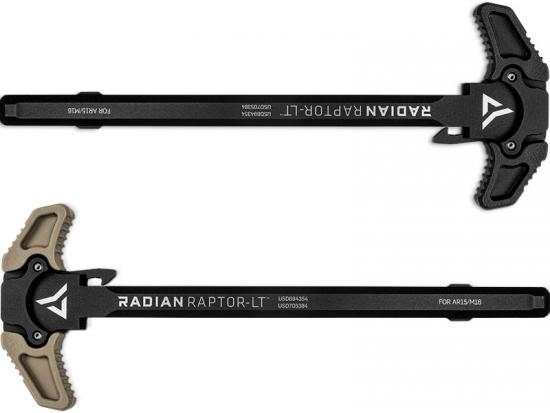 Рукоятка взведения для AR15, M16 Radian Raptor-LT CHRGNG HNDL 556BLK/556FDE (R0148/R0149)