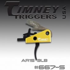 УСМ Timney Triggers AR-15 Competition Small Pin 154-3lbs Pull (667S)