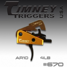 УСМ Timney Triggers AR-10 670 Small Pin 154-4lbs Pull (670)