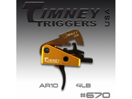 УСМ Timney Triggers AR-10 Small Pin 154-4lbs Pull (670)