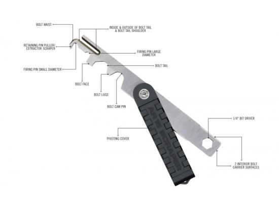Скребок  для чистки нагара для AR-15  REAL AVID SCRAPER™ (952636)