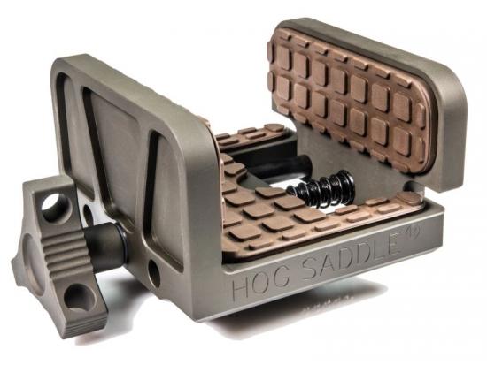Зажим Brownells 100-027-650 (платформа, площадка) для винтовки/пулемета (седло) для трипода (штатива, треноги)