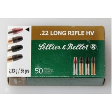 22 LR (5,6x15,6) HV 2,33 г (50 шт.) (10221010/311016/0043900 ) S&B (Sellier & Bello) (Чехия)