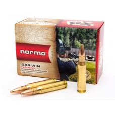Патрон 308 Win FMJ Jaktmatch 9,7 г (150 gr) (Норма Norma)