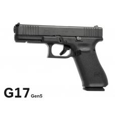 Пистолет спортивный Glock 17 Пятого поколения (Gen 5) калибра 9x19 Luger (Глок 17)