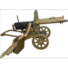 Пулемет Максима  (с крышкой) калибра 7,62x54R на станке Соколова (Максим)