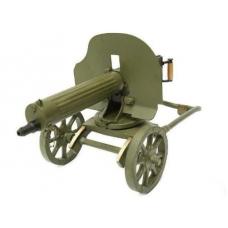 Пулемет Максима   (с пробкой) калибра 7,62x54R на станке Соколова (Максим)