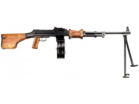Оружие списанное (охолощенное) модели РПДХ (Дегтярева)7,62x39