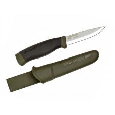 Нож Morakniv Companion MG (C) лезвие 100 мм, темно-зеленый (120243)