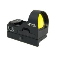 Прицел коллиматорный RTS2R 8 MOA с крепежной рейкой C-More RTS2RB-8
